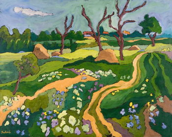 Blooming Erpart, 2006 Kunstdruk