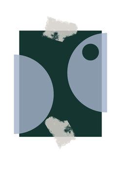 Ilustrácia Blue & Green