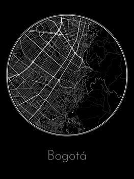 Kaart van Bogotá