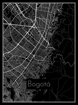 Mapa Bogotá