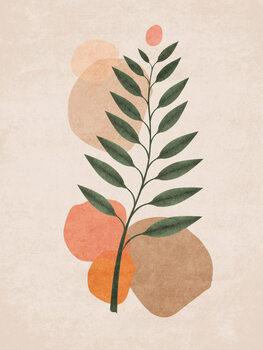Ilustrare Boho Leaves 01