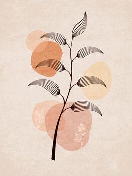 Ilustrare Boho Leaves 02