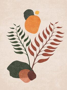 Ilustrácia Boho Leaves 03