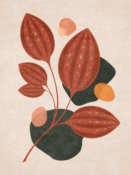 Ilustracja Boho Leaves 04