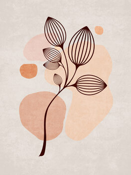 Ilustracja Boho Leaves 06