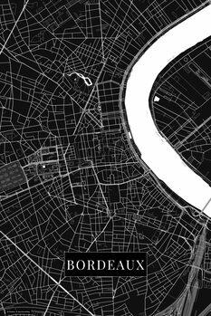 Mapa Bordeaux black