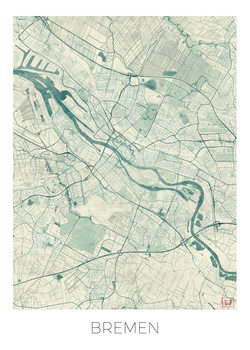Zemljevid Bremen