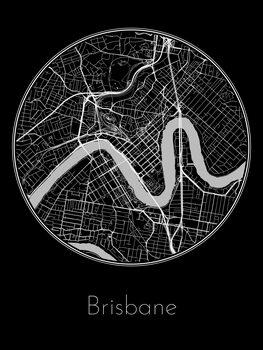 Mapa Brisbane