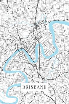 Harta Brisbane white