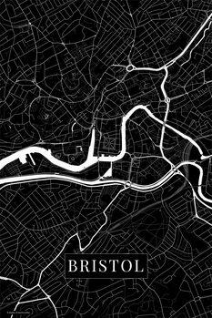 Mapa Bristol black