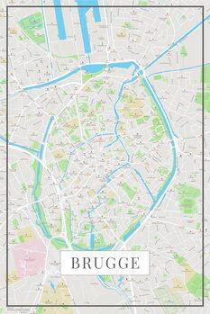 Karta Brugge color