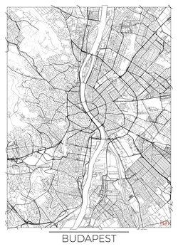 Stadtkarte Budapest