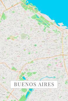 Mapa Buenos Aires color