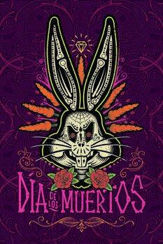 Kunstafdruk Bugs Bunny - Dag van de Doden