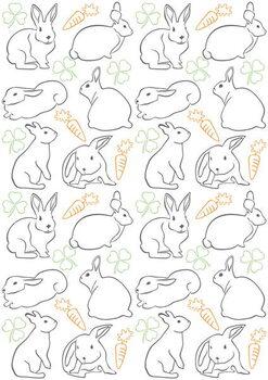 Konsttryck Bunnies