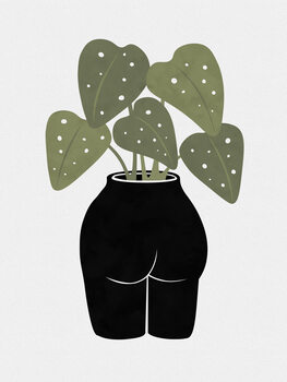 Ilustracja Butt-anical Vase