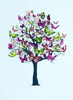 Kunsttryk Butterfly blossom, 2016,