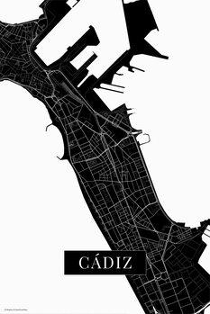 Χάρτης Cadiz black