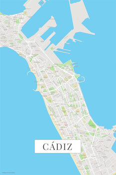 Χάρτης Cadiz color