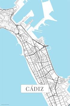 Χάρτης Cadiz white
