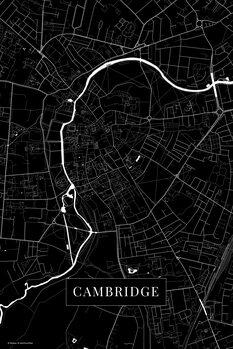 Mapa Cambridge black