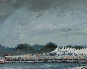 Reproducción de arte  Cannes Film Festival tents 2014, 2914,
