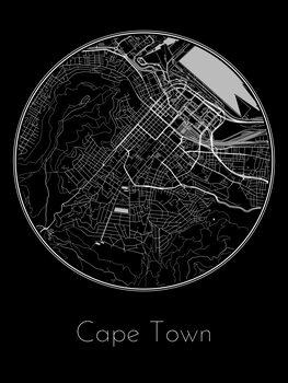 Mapa Cape Town