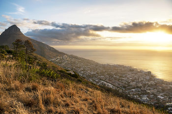 Kunstfotografie Cape Town Sunset