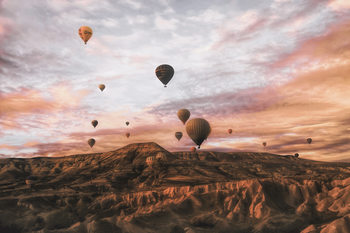 Kunstfotografi Cappodocia Hot Air Balloon