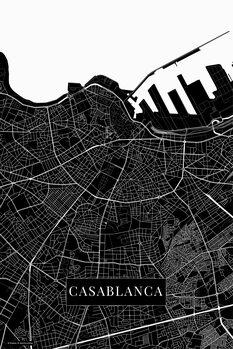 Mapa Casablanca black