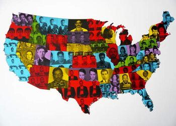 Obrazová reprodukce Celebrity Arrest Map