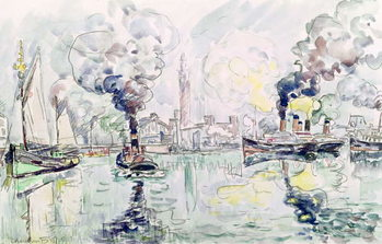 Cherbourg, 1931 Kunstdruck