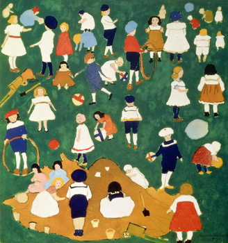 Children, 1908 Kunstdruck