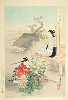 Artă imprimată 'Chrysanthemum Garden'