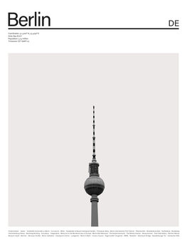 Ilustrace City Berlin 2