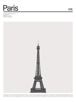 Ilustrácia City Paris 2