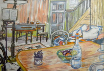 Konsttryck Clare Lise's Music Studio,