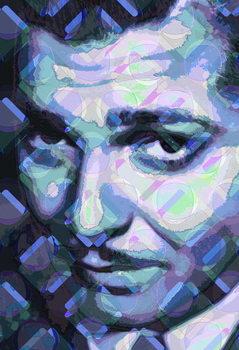 Reproducción de arte Clark Gable, 2013