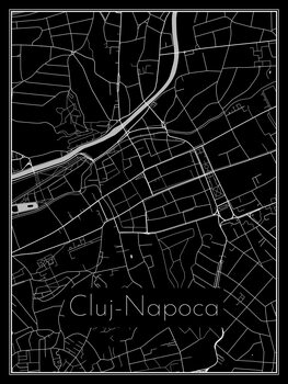 Mapa Cluj-Napoca