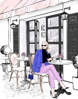 Ilustrácia Coffee time