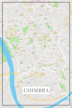 Mapa Coimbra color