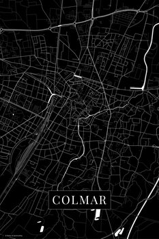 Carte Colmar black
