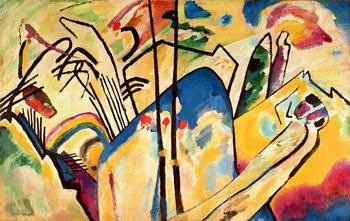 Composition no. 4, 1911 Reproduction d'art