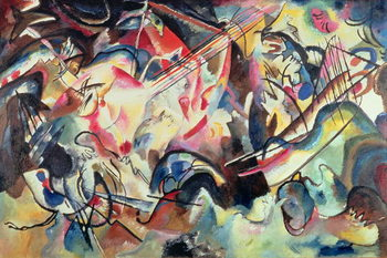 Composition No. 6, 1913 Reproduction de Tableau