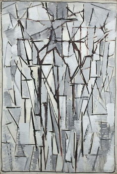 Composition trees 2, 1912-13 Kunsttryk