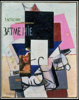 Obrazová reprodukce Composition with the Mona Lisa