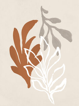 Ilustracja Coral Leaves