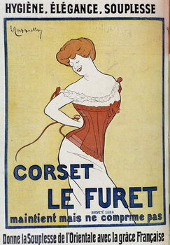 Stampa artistica Corset Le Furet
