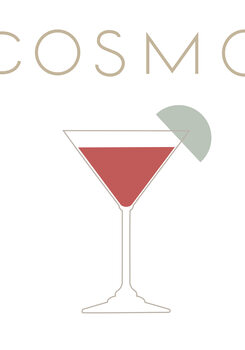 Illustration Cosmopolitan