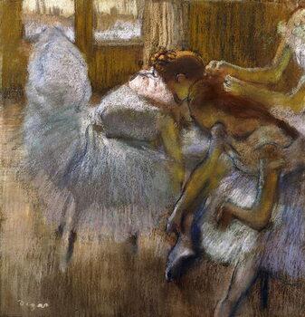 Kunsttryk Dancers at Rest, c.1885